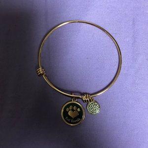 Jewelry - Faux Alex and ani dog bracelet